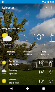 Leicester, Leicestershire - Weather - náhled
