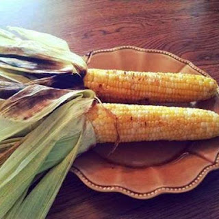 Fair Style Grilled Corn on the Cob