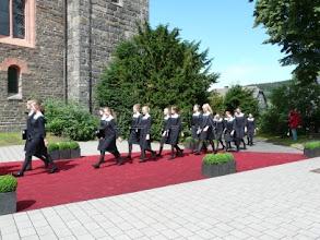 Photo: Arrival of St. Annae Pige Kor