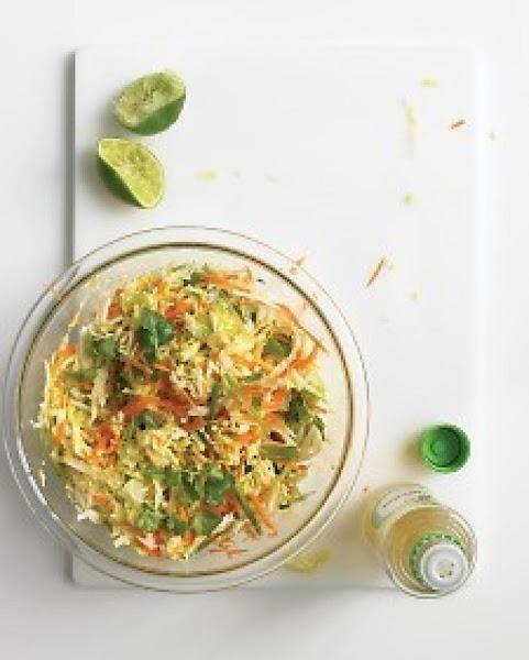 Weight Watchers Asian Cabbage Mango Slaw Recipe