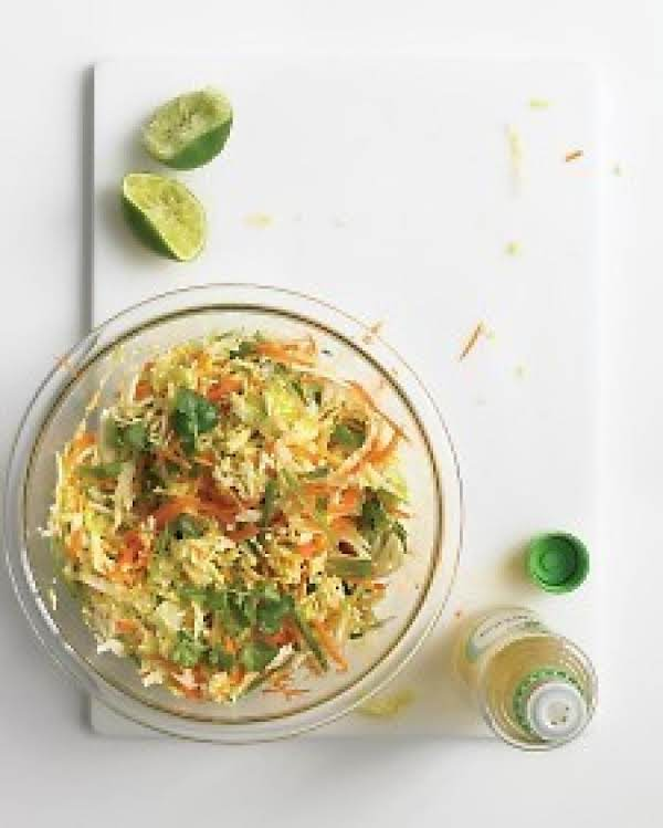Weight Watchers Asian Cabbage Mango Slaw Recipe