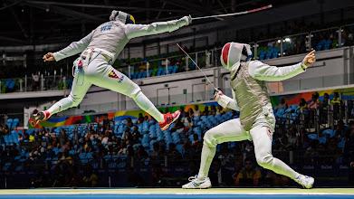 Photo: Rio 2016 Summer Olympic Games - Day 2Fencing - Men's Foil IndividualCarioca Arena 3/Rio de Janeiro  Brazil08/07/2016SI-104 TK1Credit: Joe McNally