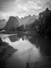Photo: Nam Song River, Laos - Adventures with a budget camera - LR Edit