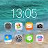 OS12 launcher theme &wallpaper