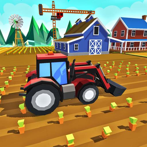 Tiny Farm Family : Building Tycoon & Farming Sim