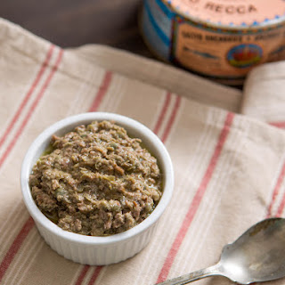 Traditional Provençal Tapenade With Capers, Anchovies, and Tuna