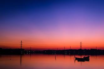 Photo: A magical sunset on Lake Teganuma in Chiba Prefecture, Japan