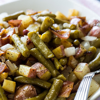 Country Ranch Green Beans and Potatoes.