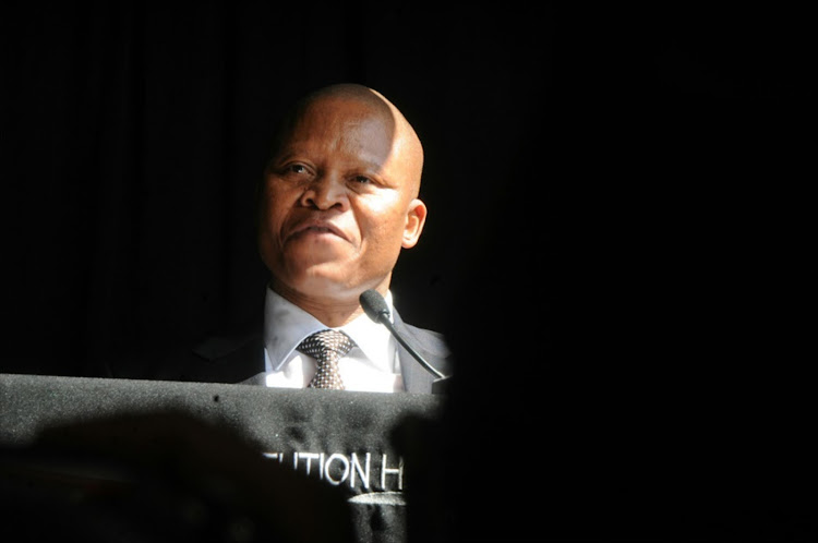 A panel is led by Chief Justice Mogoeng Mogoeng. File photo.