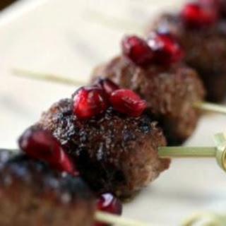 Spicy Middle Eastern kofte.