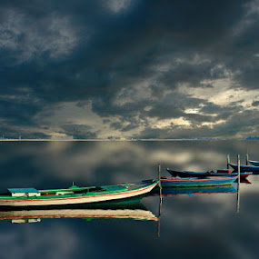 boats by Babis Mavrommatis - Digital Art Places ( sdfghsdh, dsfghb, sh, shshh, bhshs )