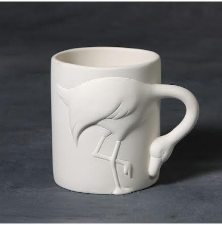Flamingomugg - 6 st