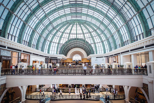 Window shop in grand style at the Mall of the Emirates in Dubai.