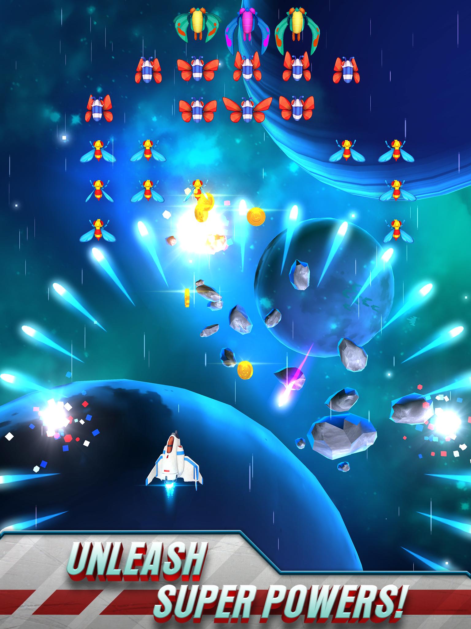Galaga Wars screenshot #7