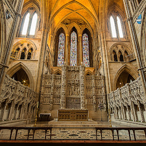 Truro Cathedral by Simon Page - Buildings & Architecture Places of Worship