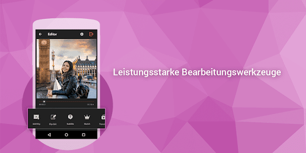 Video-Editor: Videobearbeitung Screenshot