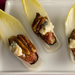 Endive with Figs, Blue Cheese, and Pecans Recipe