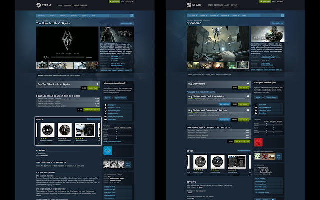Steam Game Covers