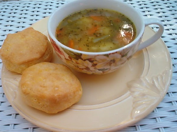 Old Fashioned Vegetable Soup! Recipe