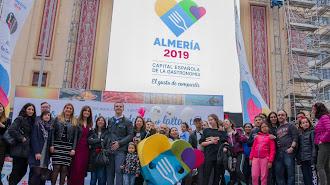 La Plaza de Callao albergará durante las dos próximas semanas la acción promocional de Almería 2019.