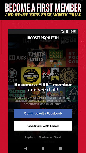 Rooster Teeth® ASO Report and App Store Data | AppTweak