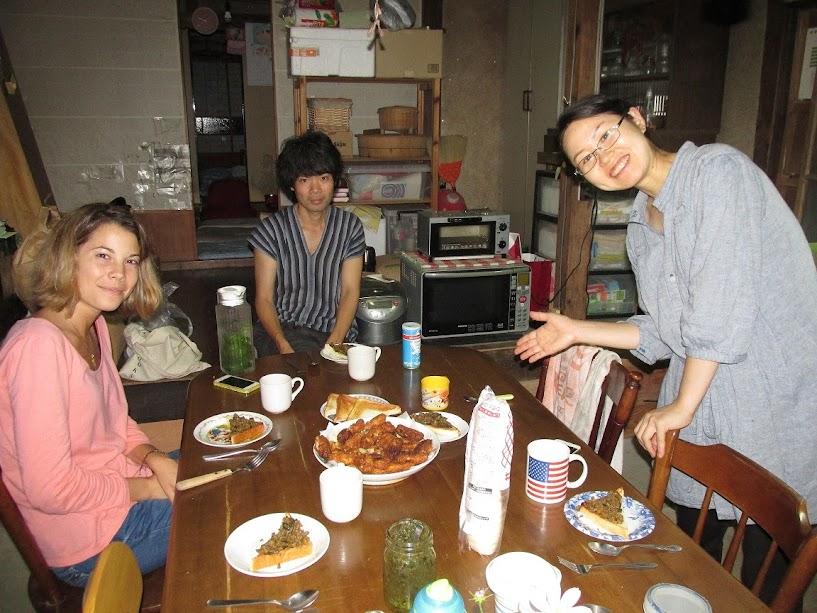 voluntarios en Japón