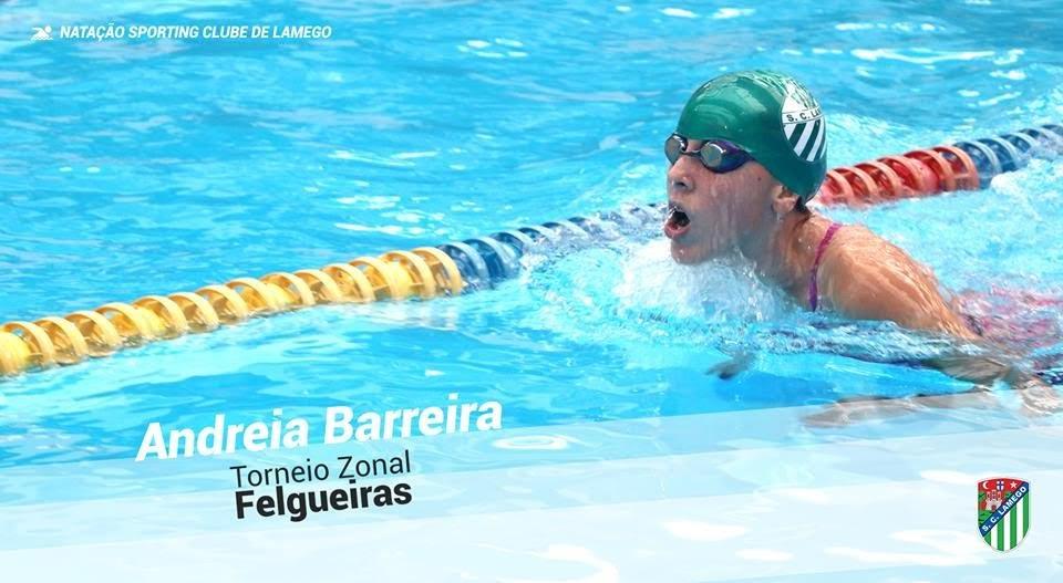 Andreia Barreira representa SCL em Torneio Zonal