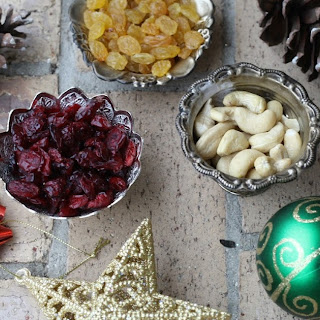 Christmas cake with a healthy Indian twist.