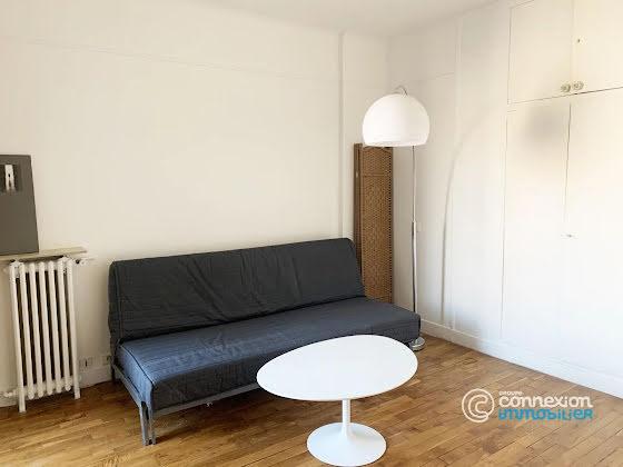 Location studio meublé 17,05 m2