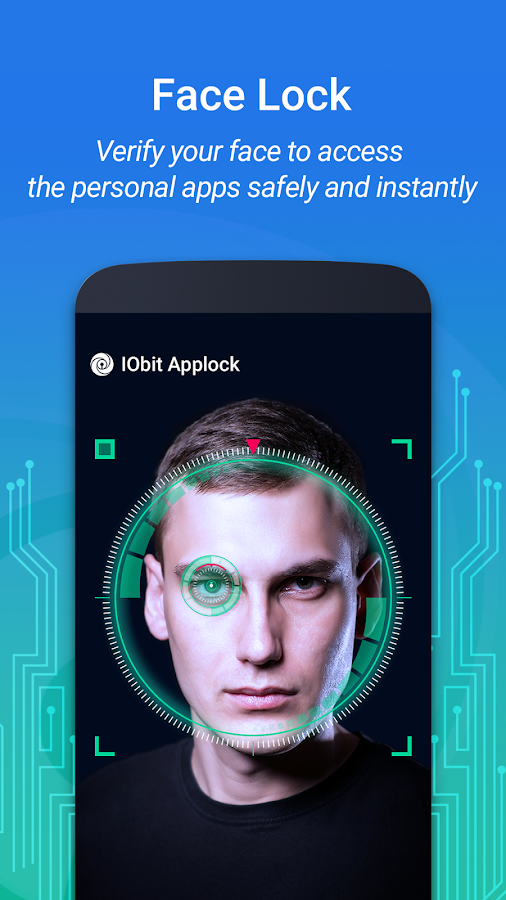 IObit Applock: Face Lock & Fingerprint Lock 2017- screenshot