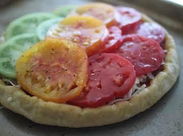 Tomato Garden Pizza