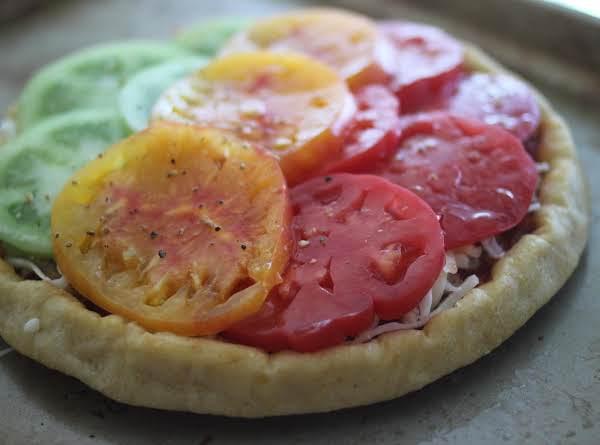 Tomato Garden Pizza Recipe