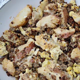 Skillet Sausage & Potato Brunch