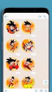Anime Stickers to chat 📱 WAStickerApps Screenshot