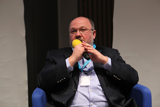 "Photo: Final panel discussion ""Latest Trends for Comms Consultancies"" 2012 - S. Zverev"