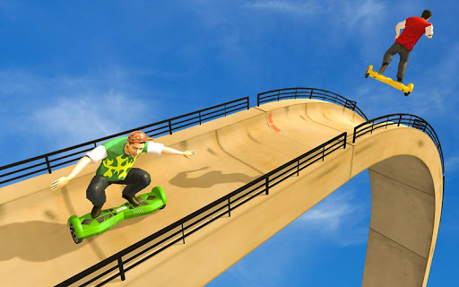 Mega Ramp VS Hoverboard 1.0.2 screenshots 14