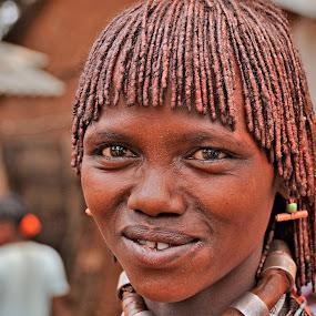 Donna hamer by Vito Masotino - People Portraits of Women ( kenia, travel, smile, africa, portrait,  )