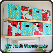 DIY FABRIC STORAGE IDEAS