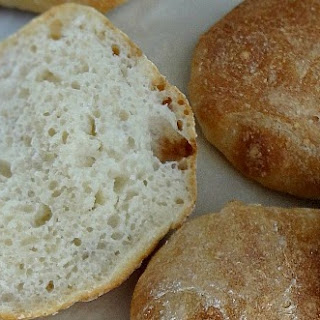 No-Knead Crusty Bread Rolls.