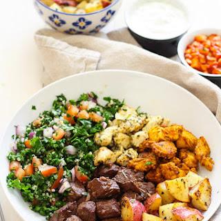 Mediterranean Mixed Grill Bowls.