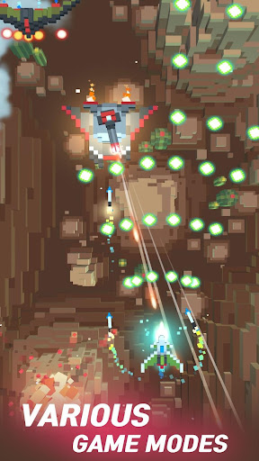 Sky Wings: Pixel Fighter 3D modavailable screenshots 3