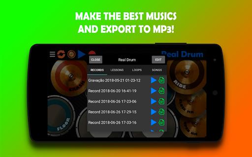 Real Drum - The Best Drum Pads Simulator 7.25 Screenshots 5