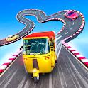 Rickshaw Stunt Racing - Impossible Tracks icon