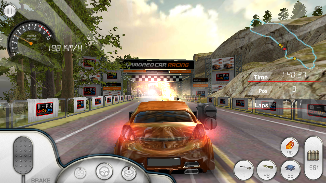 Armored Car HD (Racing Game)- screenshot