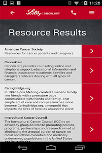 Lilly Oncology CT Resource- screenshot thumbnail