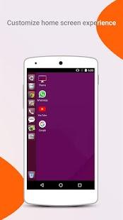 Ubuntu Style Launcher Screenshot