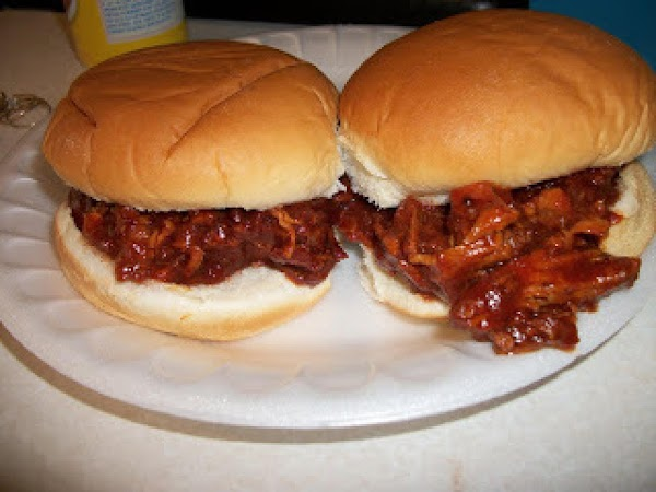 Slow Cooked Bbq Chicken Sandwiches Recipe