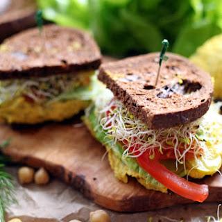 Easy Vegan Egg Salad.