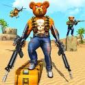 Teddy Bear Gun Strike Game: Counter Shooting Games icon