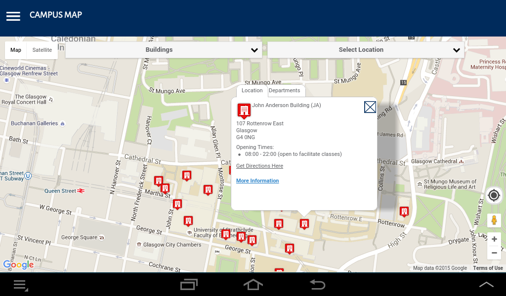 University of Strathclyde- screenshot